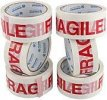 Fragile Packing Printed Adhesive Tape size 48mm x 50m(approx.)