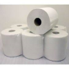 6 x Paper Rolls - 2 Ply Embossed Centre Feed - Hand Towel - 130